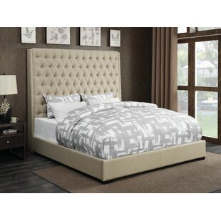 Three Posts Gauthier Upholstered Panel Bed
