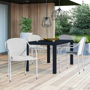 Belton Stacking Patio Dining Chair (Set of 4)