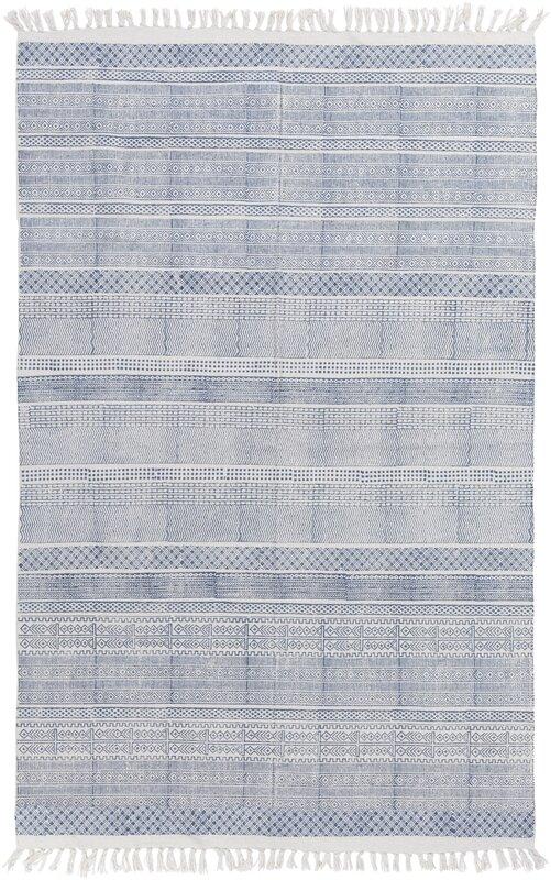 Hale Hand-Woven Blue Area Rug & Reviews | AllModern