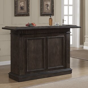 Valore Bar with Wine Storage by American Heritage