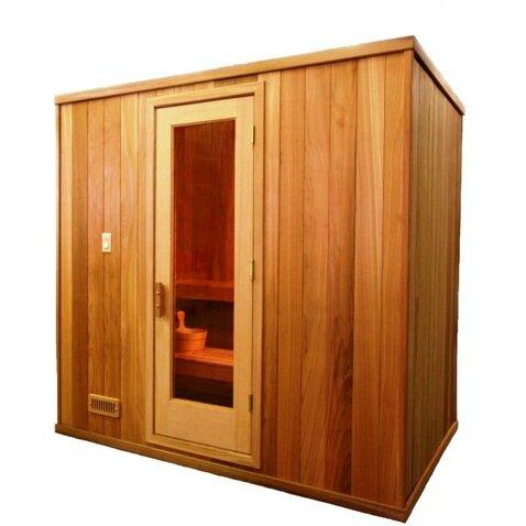 Baltic Leisure Modular 3 Person Traditional Steam Sauna Wayfair