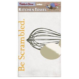 Be Scrambled Flour Sack Dishcloth