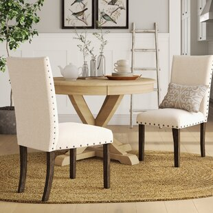 Awesome Ismay Upholstered Dining Chair Set Of 2 Andrewgaddart Wooden Chair Designs For Living Room Andrewgaddartcom