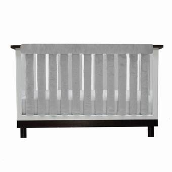 Glenna Jean Vienna Crib Rail Guard Cover Wayfair