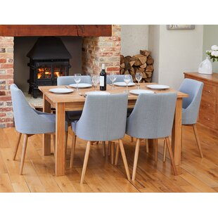 Virpi Dining Set With 6 Chairs By Rosalind Wheeler