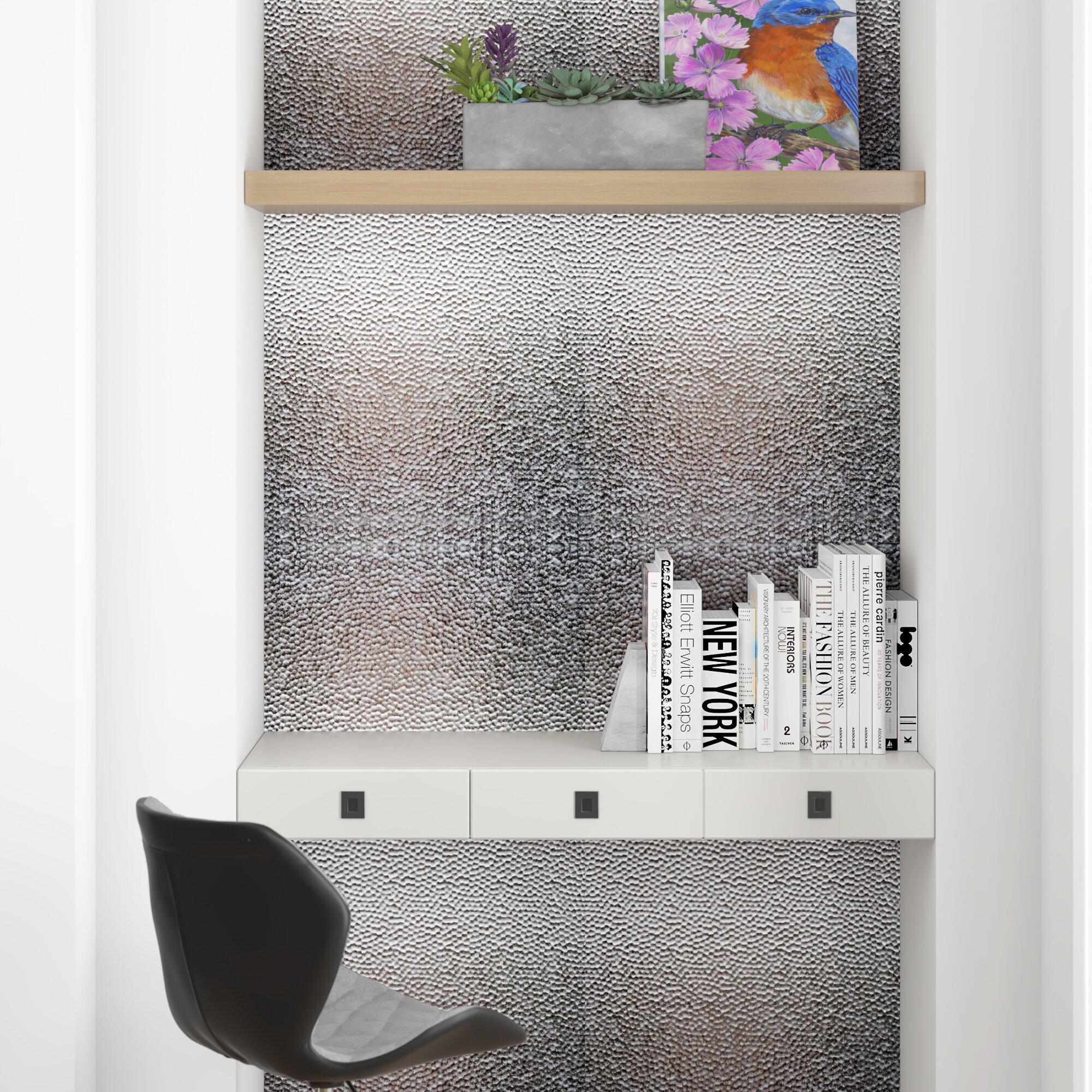 - Wrought Studio Lamina PVC Backsplash Tiles Kitchen Bathroom Shower