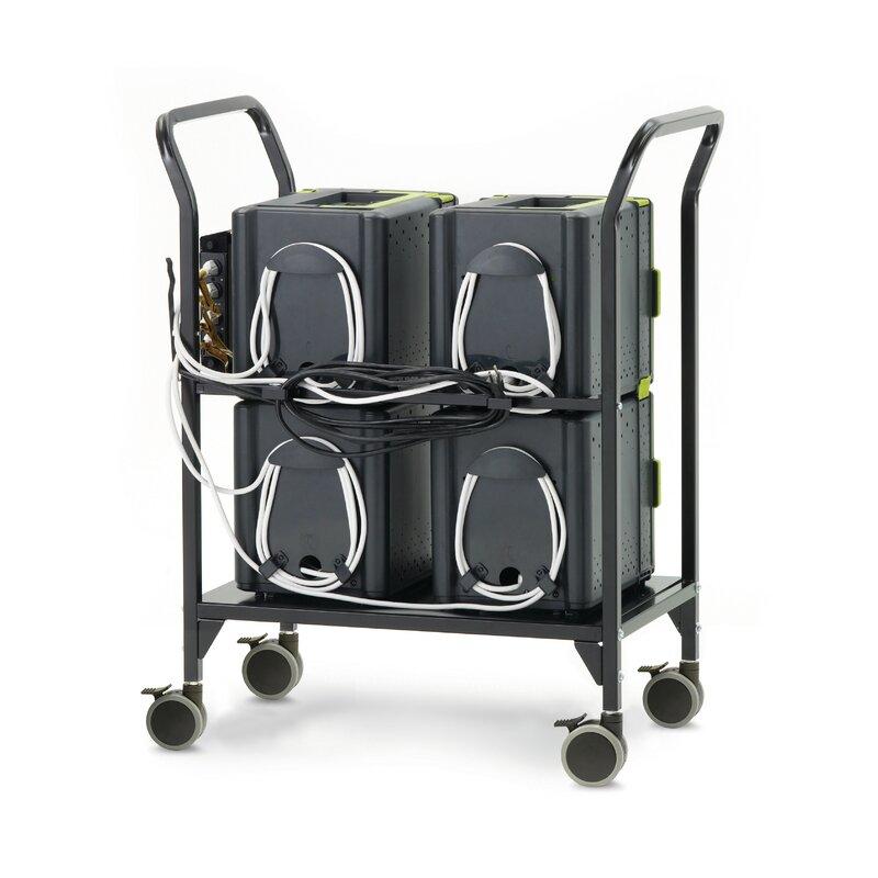 Copernicus Tech Tub2 24 Compartment Laptop Charging Cart Wayfair