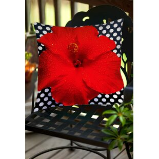 Floral Indoor/Outdoor Throw Pillow