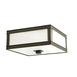 Bloomsbury Market Destanee 3-Light Flush Mount
