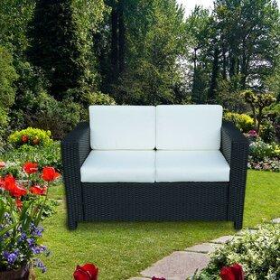 Bulloch Garden Sofa With Cushions Image