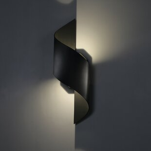 Helix LED Outdoor Sconce b..