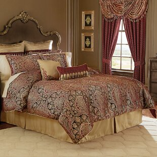 Roena 4 Piece Comforter Set by Croscill Home Fashions
