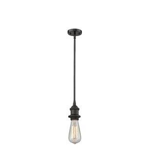 Williston Forge Bettine 1-Light Bulb Pendant