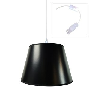 Home Concept Inc 1-Light Cone Pendant