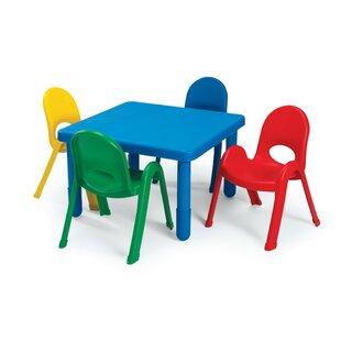Save  sc 1 st  Wayfair & Big Kids Table And Chair Set | Wayfair