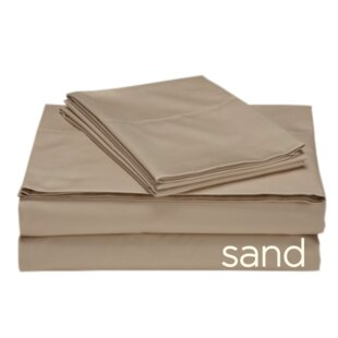 Darby Home Co Valerie 618 Thread Count 100% Cotton Sheet Set