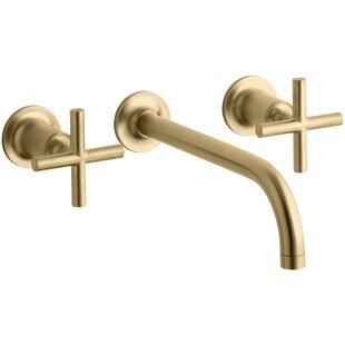Save to Idea Board. Kohler. Purist Wall-Mount Bathroom Sink Faucet Trim ...
