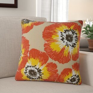 Aydin Zippered Indoor/Outdoor Throw Pillow