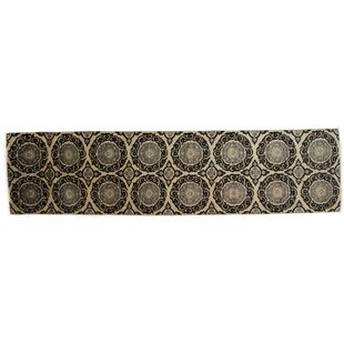 Top Reviews One-of-a-Kind Eclectic Hand-Knotted Black Area Rug ByDarya Rugs