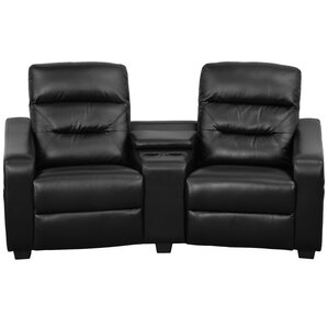Contemporary Home Theater Recliner. Black Contemporary Home Theater Recliner  sc 1 st  Wayfair & Theater Seating Youu0027ll Love | Wayfair islam-shia.org