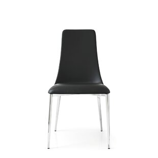 Superior Etoile Genuine Leather Upholstered Dining Chair