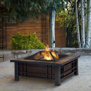 Real Flame Morrison Steel Wood Burning Fi..