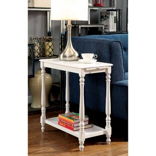 Fredrickson End Table with Storage by Highland Dunes