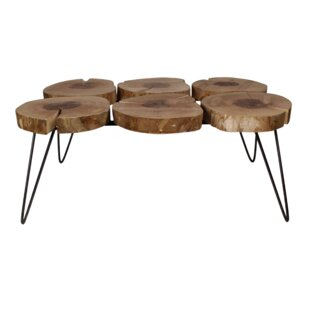 Deltoro Coffee Table By Union Rustic