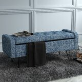 Che Upholstered Flip Top Storage Bench by Ivy Bronx