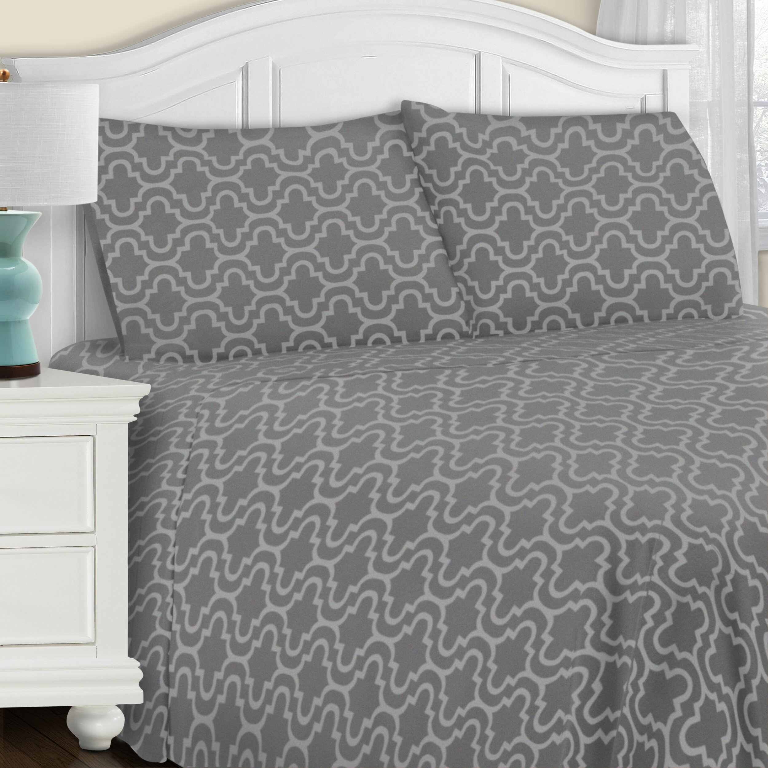 The Twillery Co Benito 100 Cotton Flannel Pillowcase Reviews Wayfair