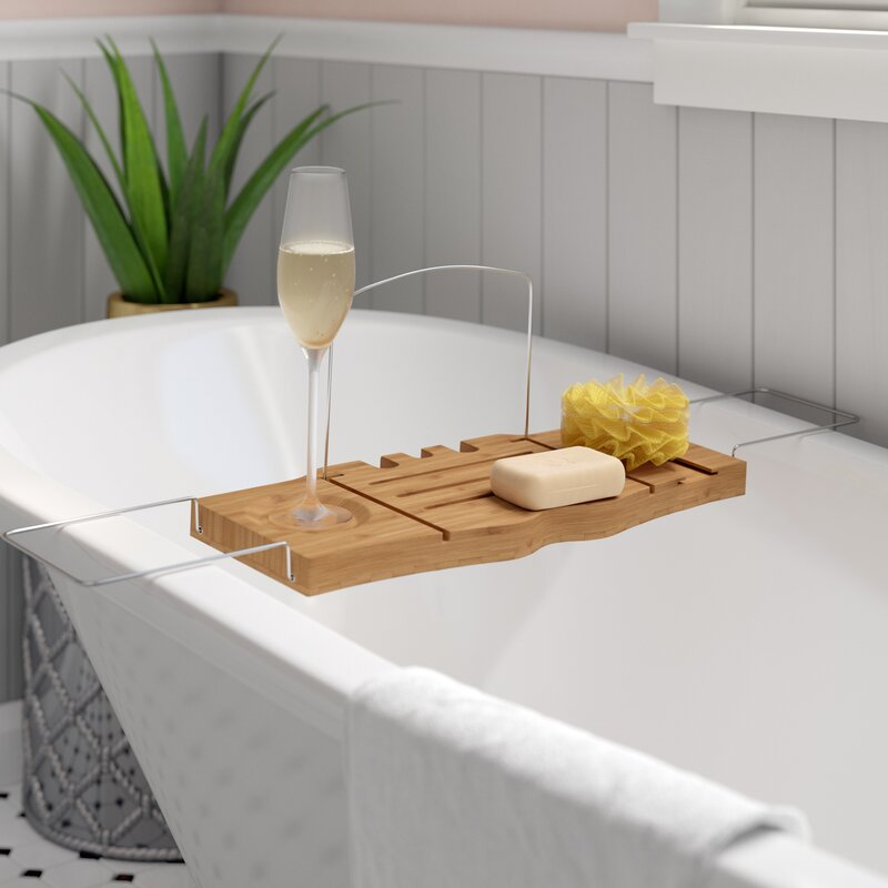 Symple Stuff Jewell Bathtub Caddy & Reviews | Wayfair