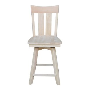 Dover 24 Swivel Bar Stool August Grove