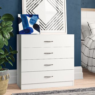 Audrina 4 Drawer Chest By Zipcode Design