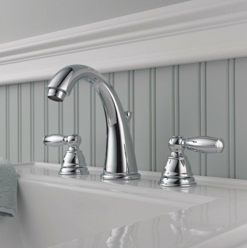 Peerless Faucets Widespread Bathroom Faucet with & Reviews | Wayfair