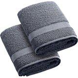 2 Piece Turkish Cotton Hand Towel Set (Set of 2)
