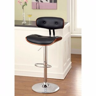 Millikin Adjustable Height Bar Stool by Orren Ellis
