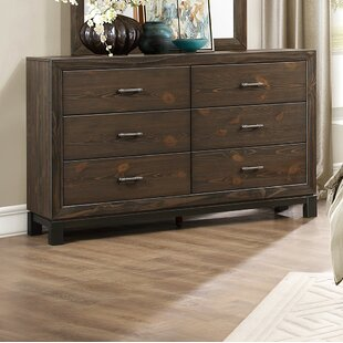 Emborough 6 Drawer Dresser by Millwood Pines