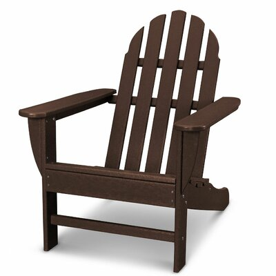 Classic Adirondack Chair Color: Mahogany