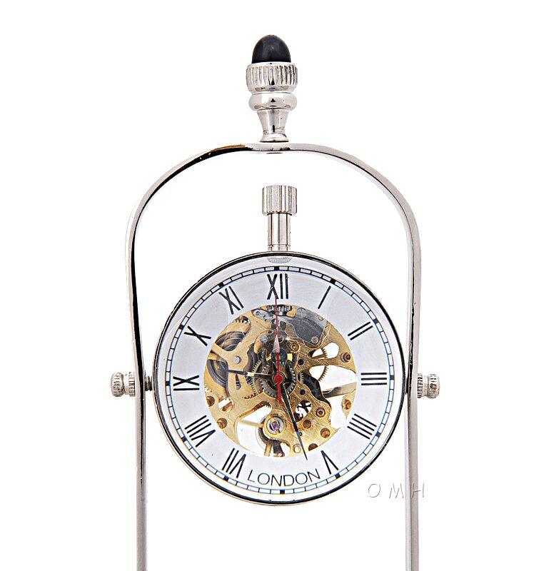 Old Modern Handicrafts Brass See Thru 3 75 Wall Clock Wayfair