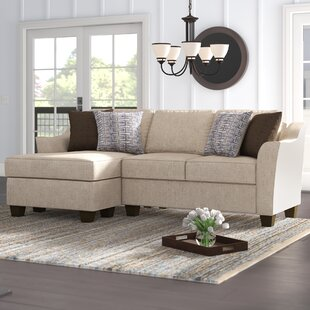Henslee 83 Reversible Sectional by Alcott Hill