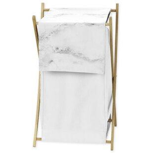 Affordable Price Marble Laundry Hamper BySweet Jojo Designs