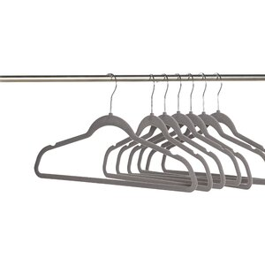 Wayfair Basics Velvet Non-Slip Hanger (Set of 50)