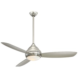 Find for 58 Concept™ I Wet LED 3 Blade Outdoor Ceiling Fan By Minka Aire