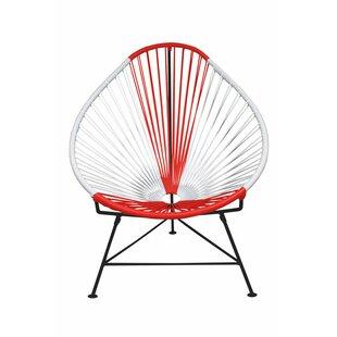 Canela Pear Papasan Chair by Mercury Row