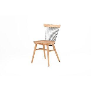 Hattie Solid Wood Dining Chair By Ebern Designs