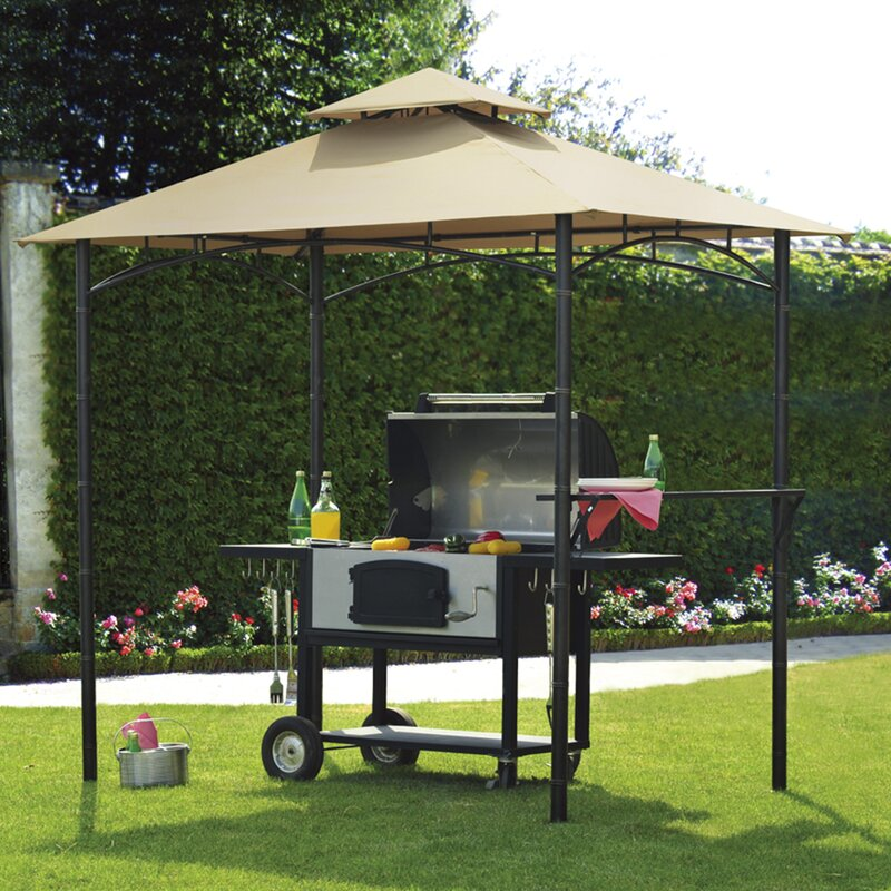 Replacement Canopy for BBQ Gazebo & Sunjoy Replacement Canopy for BBQ Gazebo | Wayfair