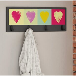 Neon Wall Mounted Coat Rack By 17 Stories