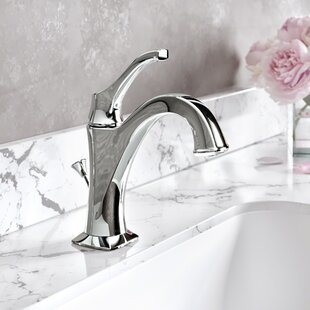 Red Barrel Studio Giancarlo Single Hole Bathroom Faucet with Drain Assembly Image