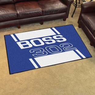 Reviews Ford - Boss 302 Rug By FANMATS