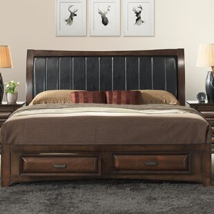North Adams Upholstered Storage Platform Bed by Charlton Home